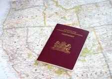 Europese reis in de V.S. Stock Afbeeldingen