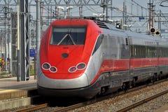 Europese snelle trein Stock Foto's