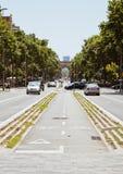 Europese steden, Barcelona Royalty-vrije Stock Afbeeldingen