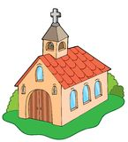 Europese stijlkerk Royalty-vrije Stock Foto