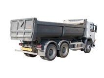 Europese stortplaatsvrachtwagen Stock Foto's