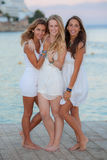 Europese tienerjaren op vakantie royalty-vrije stock fotografie