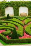 Europese tuin Royalty-vrije Stock Afbeeldingen