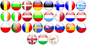 Europese Unie royalty-vrije illustratie