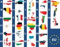 Europese Unie Stock Fotografie