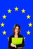 Europese Unie mensen Royalty-vrije Stock Foto