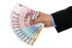 Europese Unie munt Royalty-vrije Stock Afbeelding