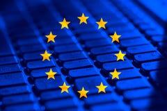 Europese Unie reeks Royalty-vrije Stock Foto's