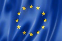 Europese Unie vlag Stock Foto's