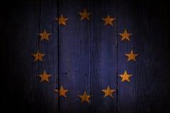 Europese Unie vlag Royalty-vrije Stock Fotografie