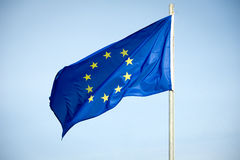 Europese Unie vlag Stock Afbeelding