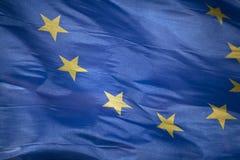 Europese vlag Stock Fotografie