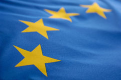 Europese vlag Stock Afbeeldingen