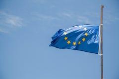 Europese vlag Royalty-vrije Illustratie