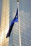 Europese vlag Brussel Stock Foto