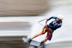Europese Wakeboard-Meesters Royalty-vrije Stock Foto
