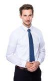 Europese zakenman Stock Foto's