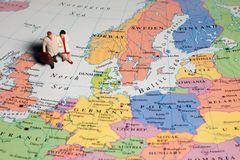EuropeTraveller Royalty Free Stock Photo