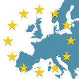 Europian countries Stock Image