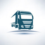Europian truck Royalty Free Stock Photo