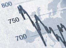 Europäische Aussicht Stockbild