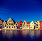 Europäische Stadt. Brügge (Brügge), Belgien Stockfotografie