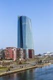 Europäische Zentralbank-Gebäude in Frankfurt am Main Stockfotos