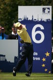 Europäischer Ausflug-Europäer Sergio-Garcia PGA geöffnet Lizenzfreies Stockbild