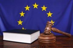 Europäisches Gesetz Stockbild