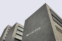 Europol Headquarter in The Hague, Den Haag. stock image