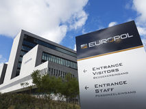 Europol headquarters, The Hague, Nederlands. Royalty Free Stock Image
