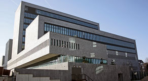 Europol headquarters in the Hague, the Netherlands. New Europol - European Royalty Free Stock Photos