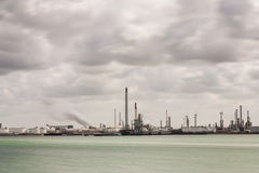 Europoort rotterdam oil terminals Stock Image