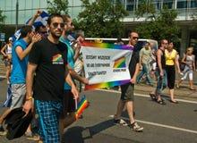 EuroPride 2010 en Varsovia Imagenes de archivo