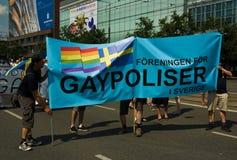 EuroPride 2010 en Varsovia Imagen de archivo libre de regalías