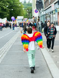 Europride 2014 Angel wings Stock Images