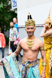 Europride 2014 Asian man posing on camera Royalty Free Stock Image