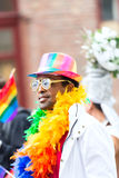 Europride 2014 Man in glasses Royalty Free Stock Photo