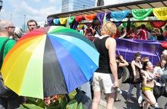 EuroPride Parade. Participants in the EuroPride Parade Stock Image