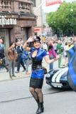 Europride parade in Oslo policewoman Stock Image