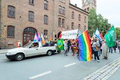 Europride parade in Oslo queer Stock Image