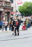 Europride 2014 pary mężczyzna w obywatel sukni Fotografia Stock