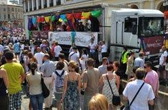 europriden ståtar Fotografering för Bildbyråer