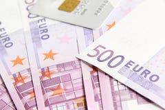 Eurorechnungen Stockbild