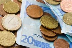 euros Royaltyfria Foton