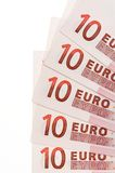 Euros Royalty Free Stock Photography