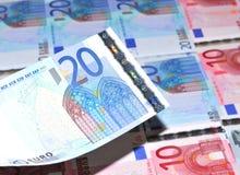 20 Euros Lizenzfreie Stockbilder