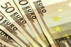 Euros 1 Stockfotos