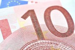 10 euros Fotografía de archivo