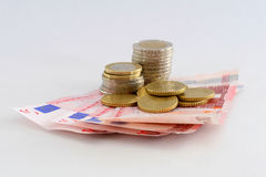 Euros Royalty Free Stock Images